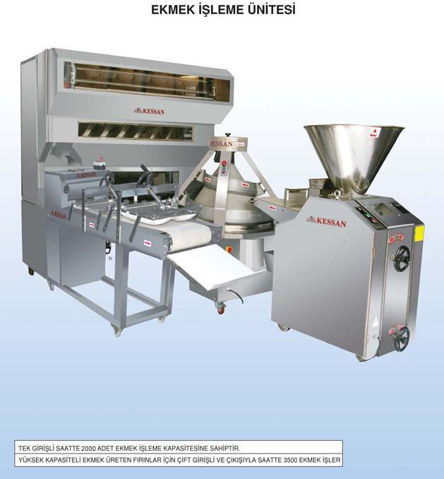 ekmek işleme makinası